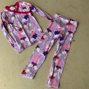 Hanna Andersson fairy Pajama Set Size 120